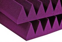 Auralex Acoustics Studiofoam Wedge Burgundy 60,96cm X 60,96cm X 10,16cm Set De 6