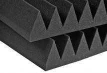 Auralex Acoustics Studiofoam Wedge Charcoal 60,96cm X 60,96cm X 10,16cm Set De 6