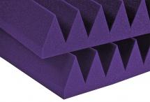 Auralex Acoustics Studiofoam Wedge Purple 60,96cm X 60,96cm X 10,16cm Set De 6