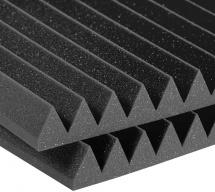 Auralex Acoustics Studiofoam Wedge Charcoal 60,96cm X 121,92cm X 10,16cm Set De 6