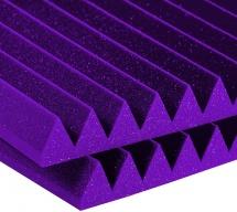 Auralex Acoustics Studiofoam Wedge Purple 60,96cm X 121,92cm X 10,16cm Set De 6