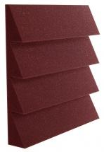 Auralex Acoustics Dst 114 Burgundy 30,48cm X 30,48cm X 5,08cm Set De 24