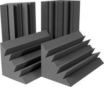 Auralex Acoustics Lenrd Bass Trap Charcoal Set De 4