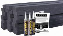 Auralex Acoustics Platfoam Kit Set De 24 Planches En Mousse Haute Densite