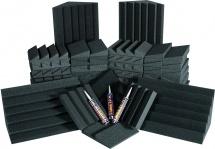 Auralex Acoustics Alpha Dst Roominator Kit Charcoal