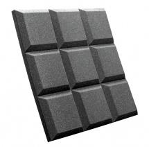 Auralex Acoustics Studiofoam Sonoflat Grid Charcoal 60,96cm X 60,96cm X 5,08cm Set De 8