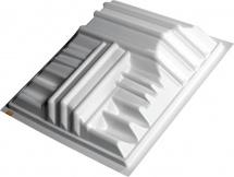 Auralex Acoustics T\'fusor Panneau Diffuseur 59cm X 59cm X 20,32 Cm Unit
