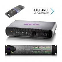 Avid Digi 00x - Mbox Pro Echange Vers Hd Native Thunderbolt + Hd 8x8x8
