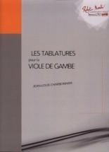 Charbonnier J.l. - Tablatures De La Viole De Gambe