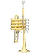 Trompette Piccolo Pro B&s 3131/2-l Vernie