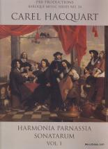 Hacquart C. - Harmonia Parnassia Sonatarum Vol. 1