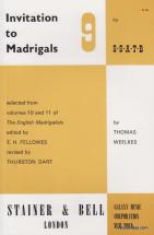 Invitation To The Madrigals Vol.9