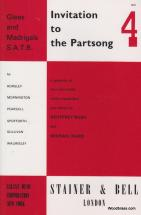 Invitation To The Partsong Vol.4 - Glees And Madrigals