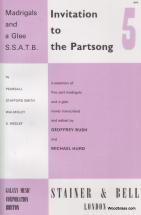 Invitation To The Partsong Vol.5 - Madrigals And A Glee