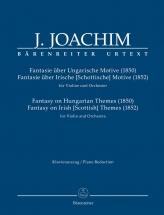 Joachim Joseph - Fantasy On Hungarian Themes (1850) / Fantasy On Irish (scottish) Themes (1852) - Vi