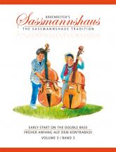 Sassmannshaus H. / Close J. Peter - Early Start On The Double Bass Vol.3
