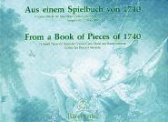 Aus Einem Spielbuch Von 1740, 19 Kleine Stucke - Flute A Bec, Basse Continue