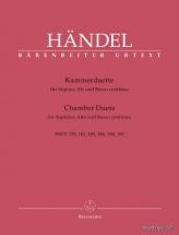 Handel G.f. - Chamber Duets - Soprano Et Alto