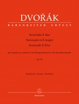 Dvorak A. - Serenade In E Major Op.22 For String Orchestra - Score