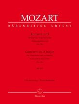 Mozart W.a. - Concerto For Pianoforte And Orchestra N°26 Kv537 Coronation Concerto - Piano Reducti