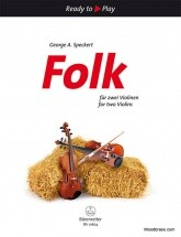 Speckert George A. - Folk For Two Violins