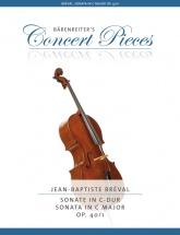 Breval Jean-baptiste - Sonata In C Major Op.40/1 - Violoncelle & Piano