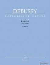 Debussy C. - Preludes Pour Piano (1er Livre)