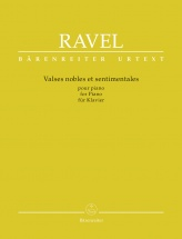 Ravel Maurice - Valses Nobles Et Sentimentales Pour Piano