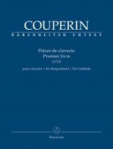 Couperin Francois - Pieces De Clavecin 1er Livre
