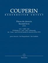 Couperin Francois - Pieces De Clavecin Second Livre 1717