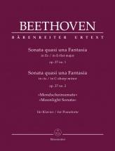 Beethoven L.v. - Sonata Quasi Una Fantasia Op.27 N°1&2 Moonlight Sonata - Piano
