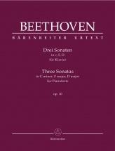 Beethoven - Three Sonatas Op.10 - Piano