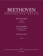 Beethoven - Two Sonatas Op.49 - Piano