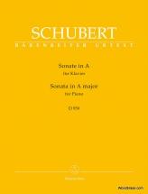 Schubert F. - Sonata In A Major D 959 - Piano