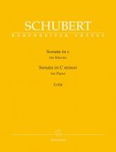 Schubert Franz - Sonata In C Minor - Piano
