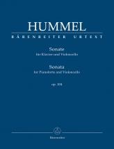 Hummel J.n. - Sonata For Pianoforte And Violoncello Op.104