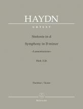Haydn J. - Symphony In D Minor Lamentazione Hob. I:26 - Score