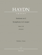 Haydn Joseph - Symphony In G Major Hob. I:92 Oxford - Score