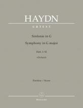 Haydn Joseph - Symphony In G Major Hob. I:92 Oxford - Score