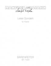 Trojahn Manfred - Leise Gondeln - Piano