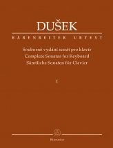 Dusek F.x. - Complete Sonatas For Keyboard Vol.1