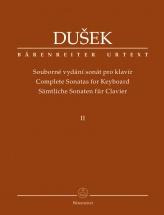 Dusek F.x. - Complete Sonatas For Keyboard Vol.2