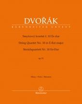 Dvorak Anton - String Quartet N°10 E-flat Major Op.51