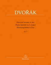 Dvorak A. - Piano Quintet In A Major Op.5