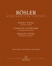 Rosler Johann Joseph - Concerto N°2 In E-flat Major - 2 Pianos