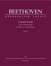 Beethoven L.v. - Grande Sonate Op.22 - Piano