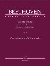 Beethoven L.v. - Grande Sonate Op.26 In A-flat Major Funeral March - Piano