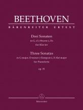 Beethoven L.v. - Three Sonatas Op.31 - Piano