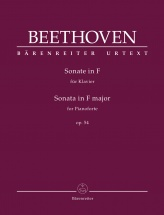 Beethoven L.v. - Sonata In F Major Op.54 - Piano