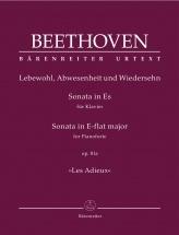 Beethoven L.v. - Sonata In E-flat Major Op.81a Les Adieux - Piano